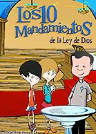 """CDRom """"Los 10 Mandamientos"""" (autora Gabriela Kast R.)"""