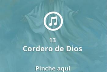 13 Cordero de Dios