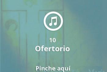 10 Ofertorio
